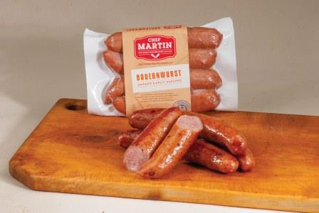 Chef Martin - Old World Butcher Shop Sausage - BAUERNWURST