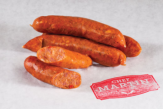 Chef Martin - Old World Butcher Shop Sausage - Andouille