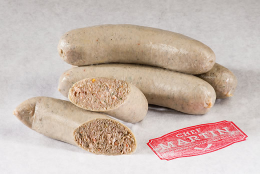 Chef Martin - Old World Butcher Shop Sausage - Boudin Blanc