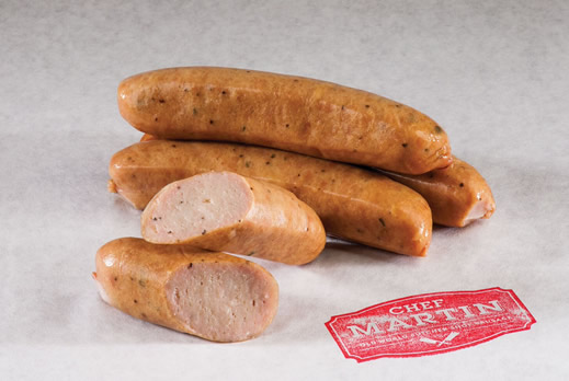 Chef Martin - Old World Butcher Shop Sausage - Smoked Chicken & Apple Sausage