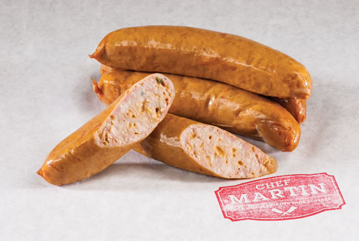 Chef Martin - Old World Butcher Shop Sausage - Jalapeño Cheddar Bratwurst