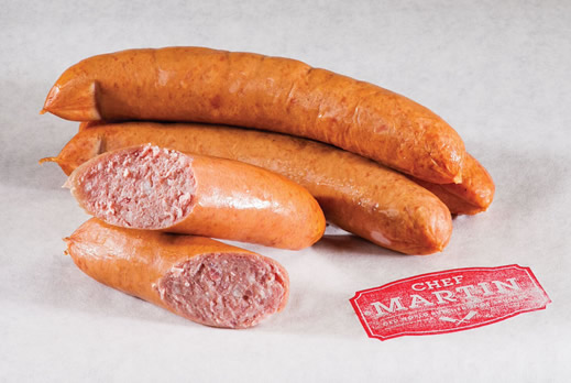Chef Martin - Old World Butcher Shop Sausage - Smoked Bauernwurst