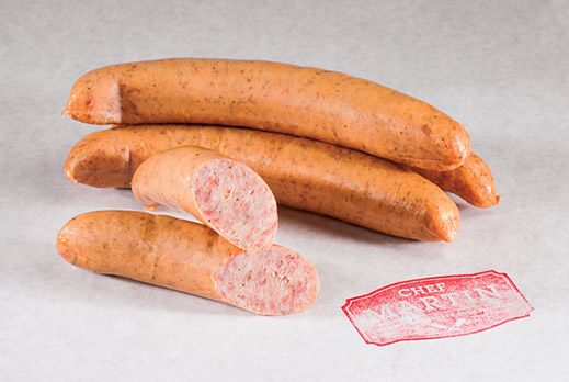 Chef Martin - Old World Butcher Shop Sausage - Smoked Texas Garlic Sausage