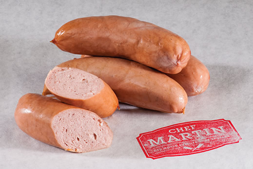 Chef Martin - Old World Butcher Shop Sausage - Knackwurst