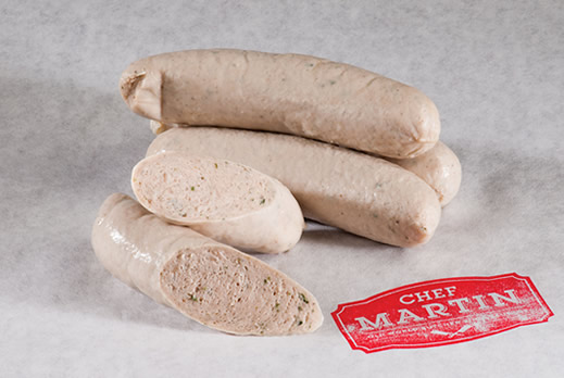 Chef Martin - Old World Butcher Shop Sausage - Weisswurst