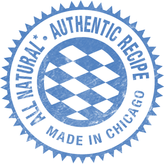All Natural Authentic Recipe Made in Chicago